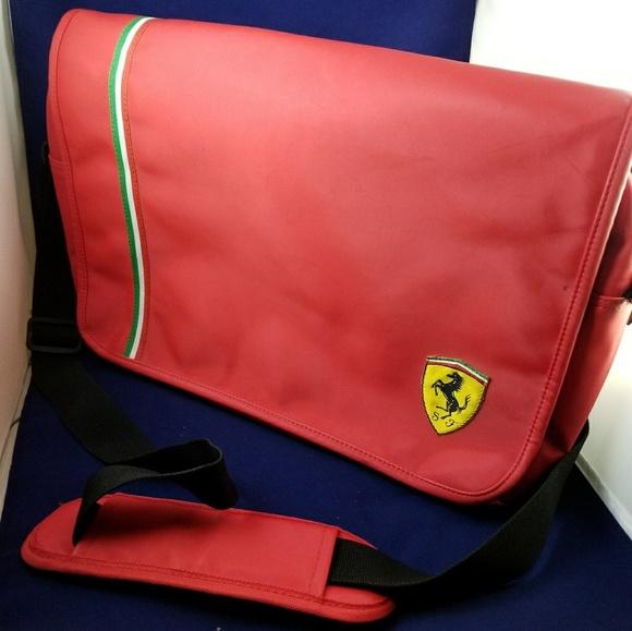 b1076e4e5eae7f Ferrari Handbags - Ferrari messenger laptop bag